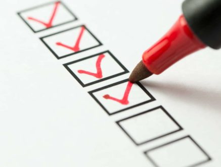 Useful checklist when moving